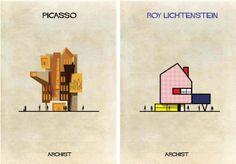Y si estos artistas hubieran sido arquitectos?