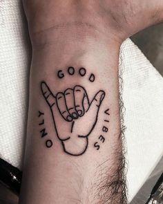 Kuvahaun tulos haulle good vibes only tattoo