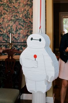 Big Hero 6 Birthday Party Baymax Birthday Party Big Hero 6 Pinata Baymax Pinata