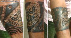 Foto tatuaje Maoríes, Brazaletes