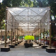 Travelling BMW Guggenheim Lab, Mumbai site (2012-13) | Atelier Bow-Wow