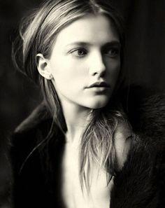Such stunning innocence ~ Portrait of Vlada Roslyakova by Paolo Roversi ( http://fashiongonerogue.com/portrait-vlada-roslyakova-paolo-roversi/ )