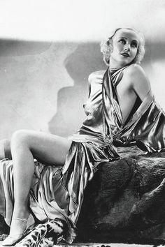 The stunning Carole Lombard 1930's