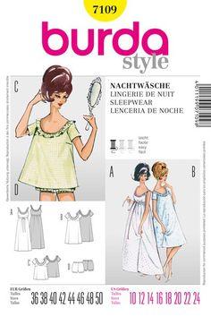 1950s vintage clothing patterns