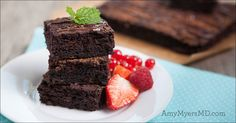 These mint chocolate brownies truly are a decadent dessert and they're The Myers Way®approved!