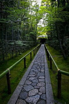 Early summer in Koto-in, sub-temple of Daitoku-ji, Kyoto, Japan