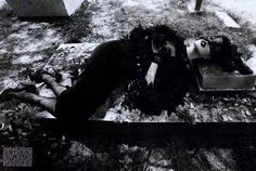 Silent   Vogue Italia, August 2008   Lucy O'Donnell
