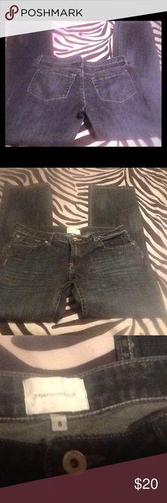 SALE❣Paper Cloth Denim Jeans beyond Excellent Condition. Slim Bootcut Paper Cloth Denim Jeans