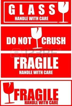 Fragile,sticker