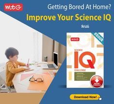 Make the best use of lockdown! Improve your kid's Science IQ along with preparing them for NSO. #MTG's Science IQ Challenge. Download the #ebook today! Mtg Books, Olympiad Exam, National Defence Academy, Hindi Books, Class 8, Entrance Exam, English Book, Student Studying, Science Books