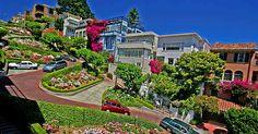 lombard street san francisco california estados unidos Lombard Street, una de las calles más curiosas de Estados Unidos | blog-muchomasqueunviaje.com