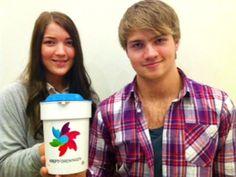 Russen er godt i gang med #Krafttakmotkreft alt - her Halden-russ :)