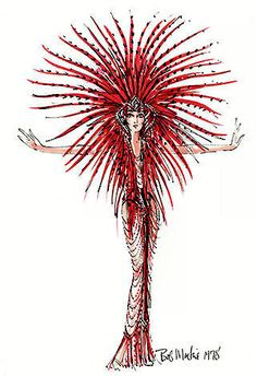 "For Cher's ""Celebration at Caesars"" concert by Bob Mackie opening number ""Could I Be Dreaminn"""