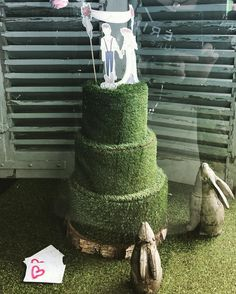 Loving our new window display styled and created for us by the fabulous Clare of @atelierweddings - when it comes to styling this girl has it all going on