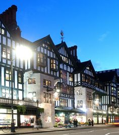This is a delightful place to shop.  Liberty of London on Great Marlborough St., London.