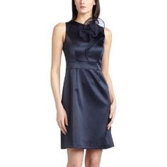 Ellen Tracy Women's Stretch Satin Sheath Dress (Apparel)