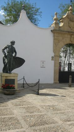 Entrance to the bullring, Ronda