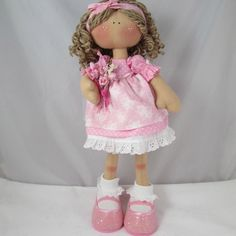 Honey Bunch Doll  Isabelle OOAK by Therubyrange on Etsy, £45.00....(pretty in pink! i LOVE this doll!)...