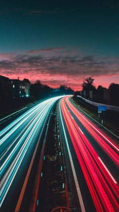 Wallpaper of long exposure Night Photography View of Vehicle Headlamps Light Trails background. Wallpaper City, Blue Wallpaper Iphone, Blue Wallpapers, Wallpaper Backgrounds, Light Trail Photography, Night Photography, Street Photography, Landscape Photography, Photography Lighting