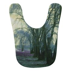 Line of weeping willow trees bibs