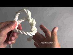Sekunden-Palstek / Bowline by Yachtfernsehen.com
