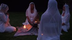 Beautiful Sacred Ceremony ~ the Divine Feminine celebrating the Four Directions.