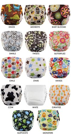 I love these - All in One Diapers - Swaddlebees Cloth Diapers