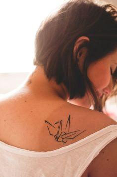 My tatto tsuru <3