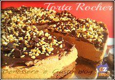 Crema alla Nutella, fresca e golosa, tra una base croccante con biscotti pan di stelle e cioccolato fondente ricoperto di nocciole