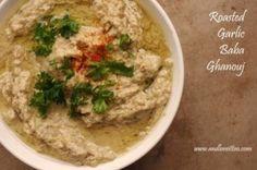 Roasted Garlic Baba Ghanouj (Candida-Friendly, ACD, Gluten-Free, Dairy-Free, Paleo, Vegan)