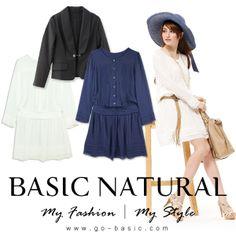 Lace Chiffon Hem Dress    在材質上選擇柔軟又帶有透膚效果的款式,就算剪裁寬鬆也能小露性感!建議搭配今年流行的西裝外套,做出異材質混搭的豐富層次感。