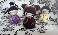 kokeshi amigurumi patron gratis crochet pattern free