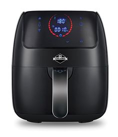 Digital Air Fryer by Stove  Brick  32QT 1400 Watt Extra Large Touch Screen Detachable Square NonStick Basket w 30 Recipe EBook >>> Read more  at the image link.(It is Amazon affiliate link) #TrendingHomeAppliances