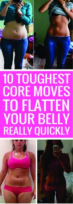 10 Tough Core Exercises!