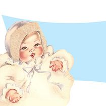 Free Vintage Baby Clip Art