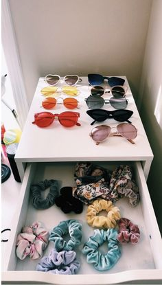 who else is obsessed with cute sunglasses and scrunchies