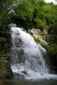 Cascata no Parque da Cabreia, Sever do Vouga, Aveiro