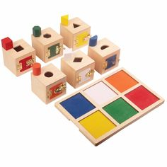 Home New Fashion Montessori Wooden Toys Kindergarten Child Learning Aids Home Version Brown Ladder Pink Tower Sensory Toys Fixing Prices According To Quality Of Products