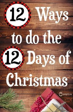 12 days of Christmas gifts ideas for family, friends, and teachers. Giving the 12 days of Christmas gifts with your kids can be the highlight of your holiday! Here are some fabulous ideas! Twelve Days Of Christmas, Family Christmas, All Things Christmas, Christmas Holidays, Christmas Gifts, Christmas Ideas, Merry Christmas, Elegant Christmas, Holiday Ideas