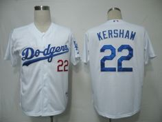 Los Angeles Dodgers #22 Clayton Kershaw White Cool Base