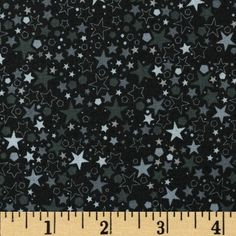 Basically Patrick Stars New Year's Eve from @fabricdotcom  Designed by Patrick Lose for RJR Fabrics, this cotton print is perfect for quilting, apparel and home decor accents. Colors include shades of grey and black.
