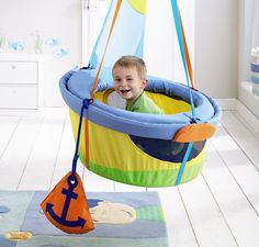 Let Your Toddler's Imagination Set Sail With HABA's Swing Ship Ahoy  ... see more at InventorSpot.com