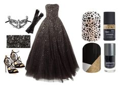 """Jamberry Nails - Masquerade"" by kspantonjamon on Polyvore featuring Dolce&Gabbana, Jimmy Choo, Masquerade and Diane Von Furstenberg"