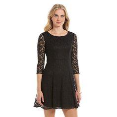 Kohls. Women's LC Lauren Conrad Lace Fit & Flare Dress