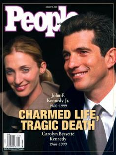 John F Kennedy Jr, Carolyn Bessette Kennedy and Lauren Bessette