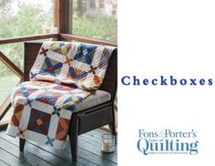 How to Make the Checkboxes Quilt