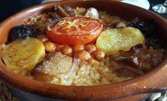 Arroz al horno en la presentación de las jornadas del arroz y el vino valenciano organizadas por la @fehvhosteleria