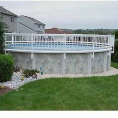 Resin Above Ground Pool Fence Kit
