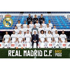 Real Madrid C.F. Poster Club 44 - Starting at Rs. 199 Official#Football #Merchandisefrom#LaLiga