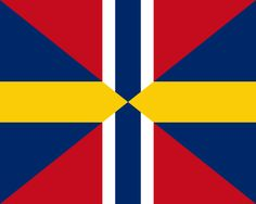 Union Jack of Sweden and Norway (1844-1905)